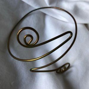 Jewelry - Adjustable Copper/Bronze Wire Arm-Bracelet